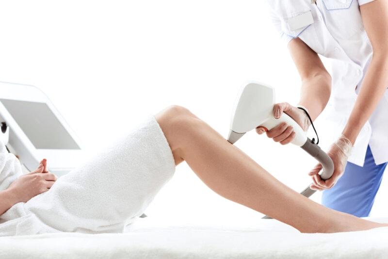Dauerhafte Haarentfernung Behandlung